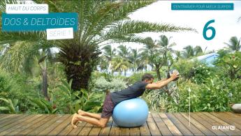 preparation physique haut du corps pour surfeur