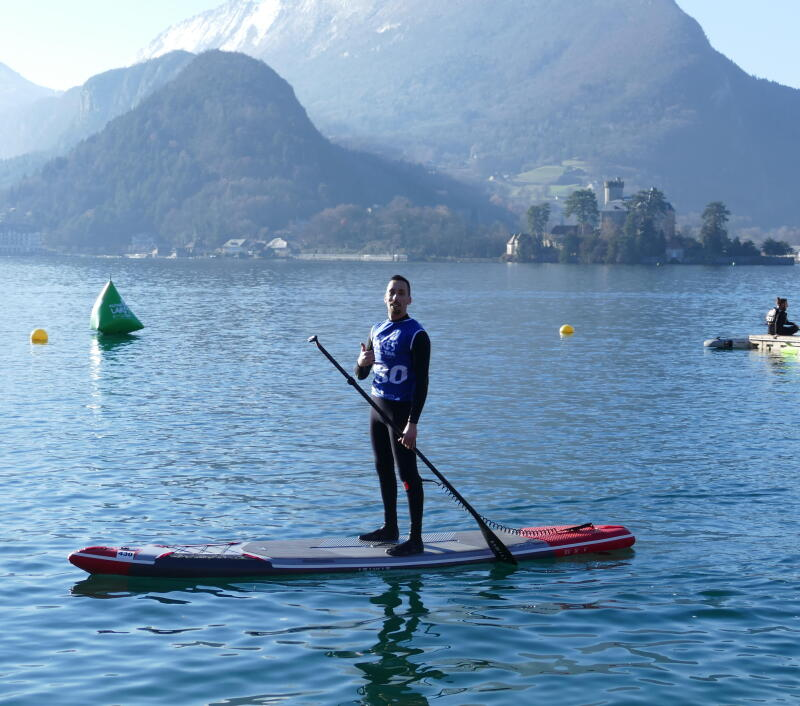 Glagla race Annecy stand up paddle gonflable
