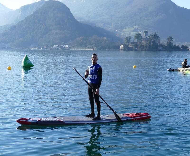 Glagla race stand up paddle annecy