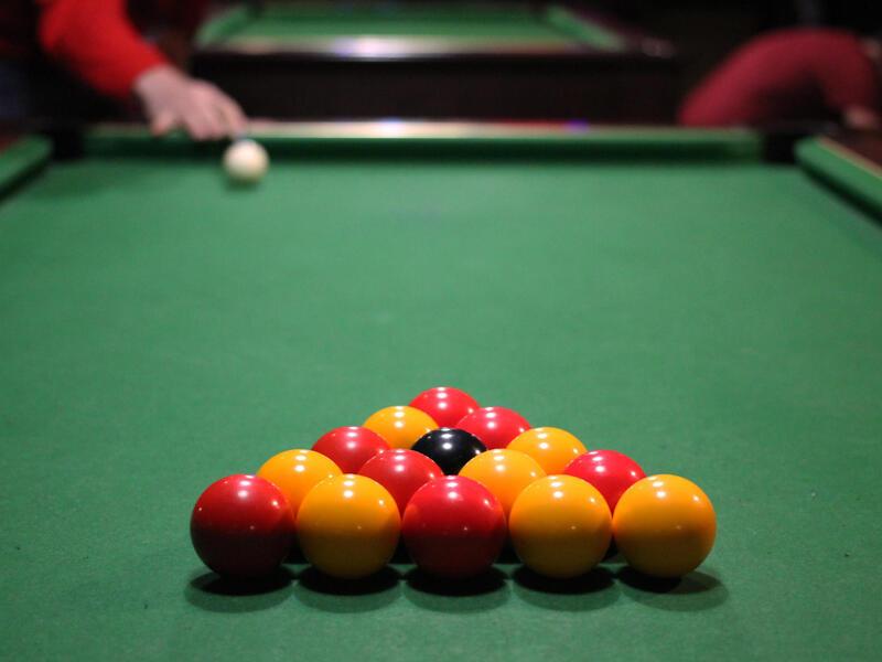 Règles du blackball - billard anglais