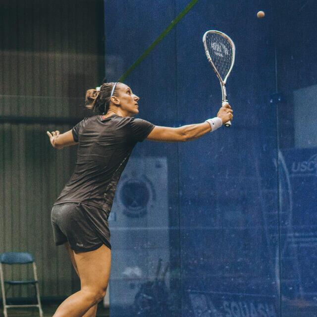 Construire son point au squash