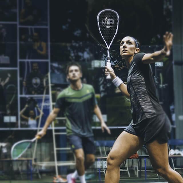 Maintenir la pression au squash grâce à la vollée