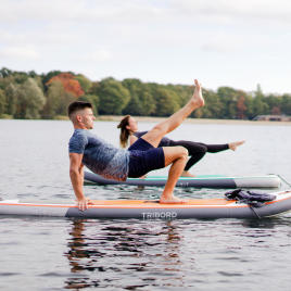 Yoga Position Umgedrehter Tisch