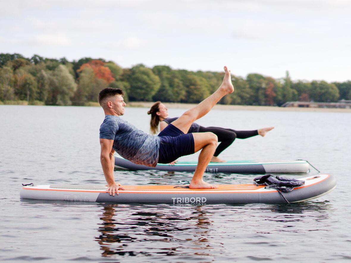 Posture du crabe yoga