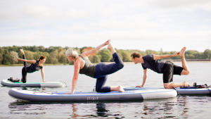 SUP yoga by Decathlon