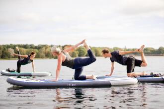 SUP yoga by Decathlon