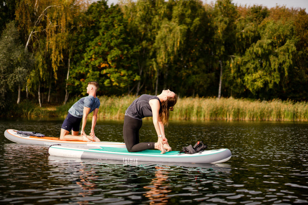 stand up paddle yoga