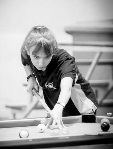 Billard au féminin - blackball