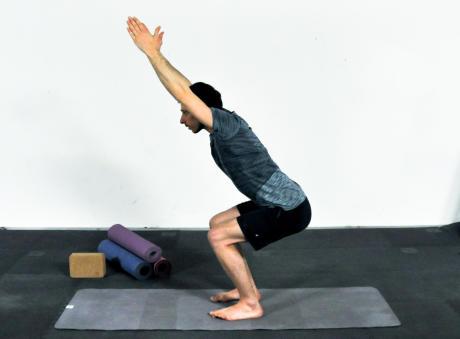 yoga jambes