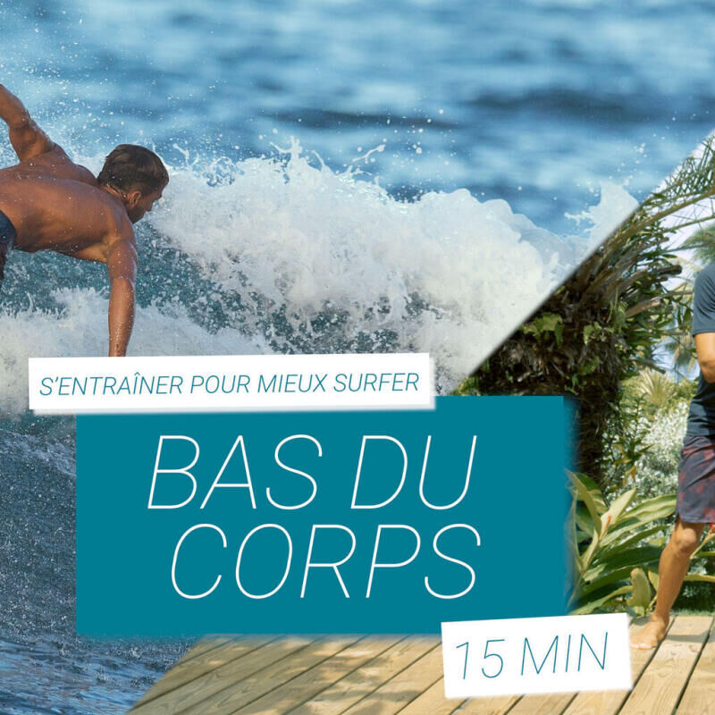 entrainement tutoriel bas du corps surf fitness