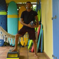 step medecine ball preparation physique pour surfeurs