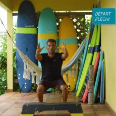 step preparation physique pour surfeurs