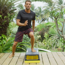 préparation physique pour surfeur endurance step