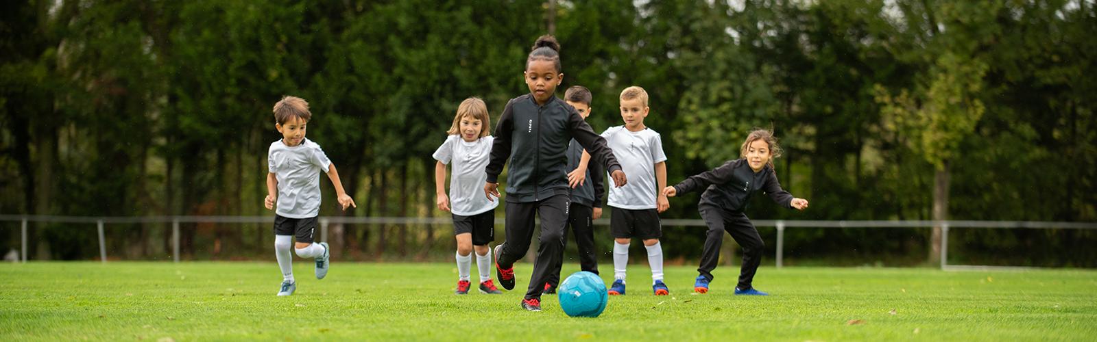 Découvrez notre gamme de produits Football pour les enfants