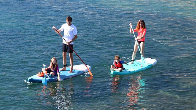 Comment Faire Du Stand Up Paddle Avec Des Enfants Itiwit