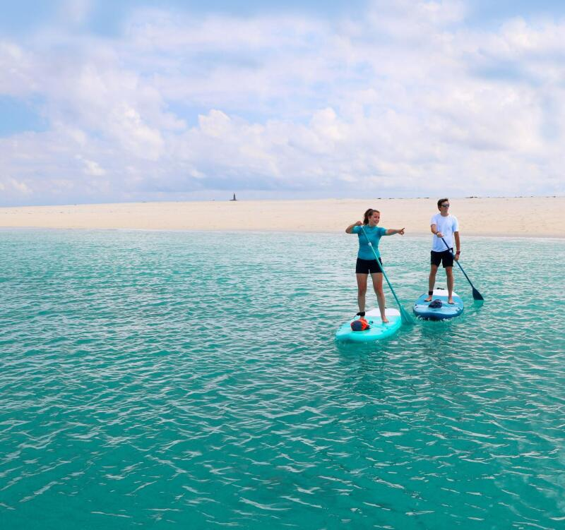 debuter stand up paddle
