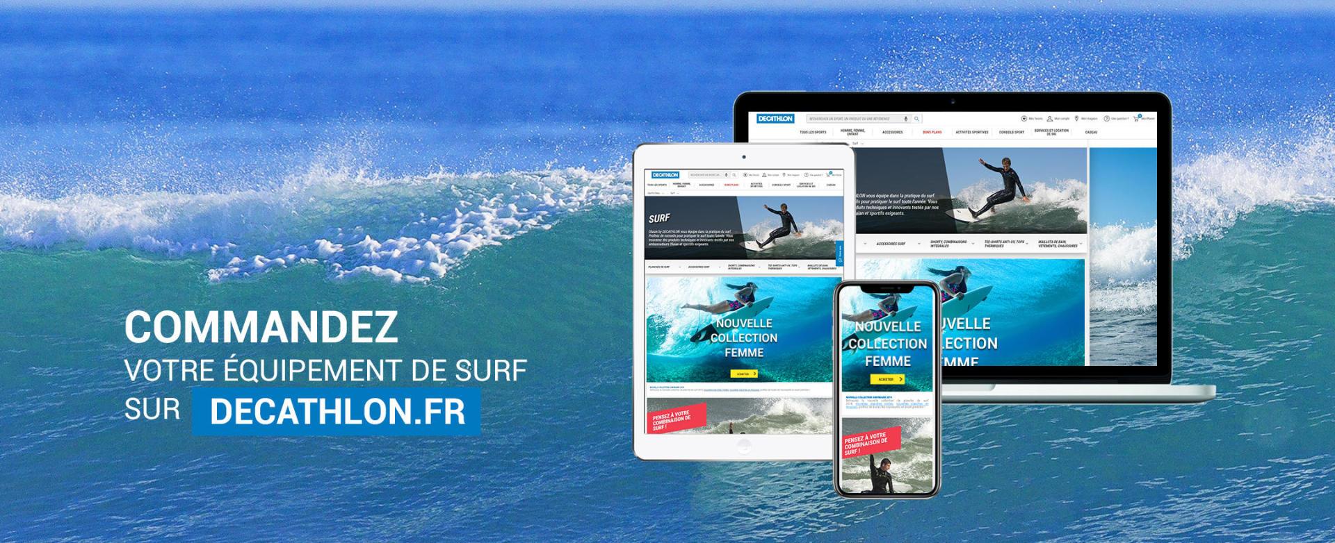 Equipement de surf sur Decathlon.fr