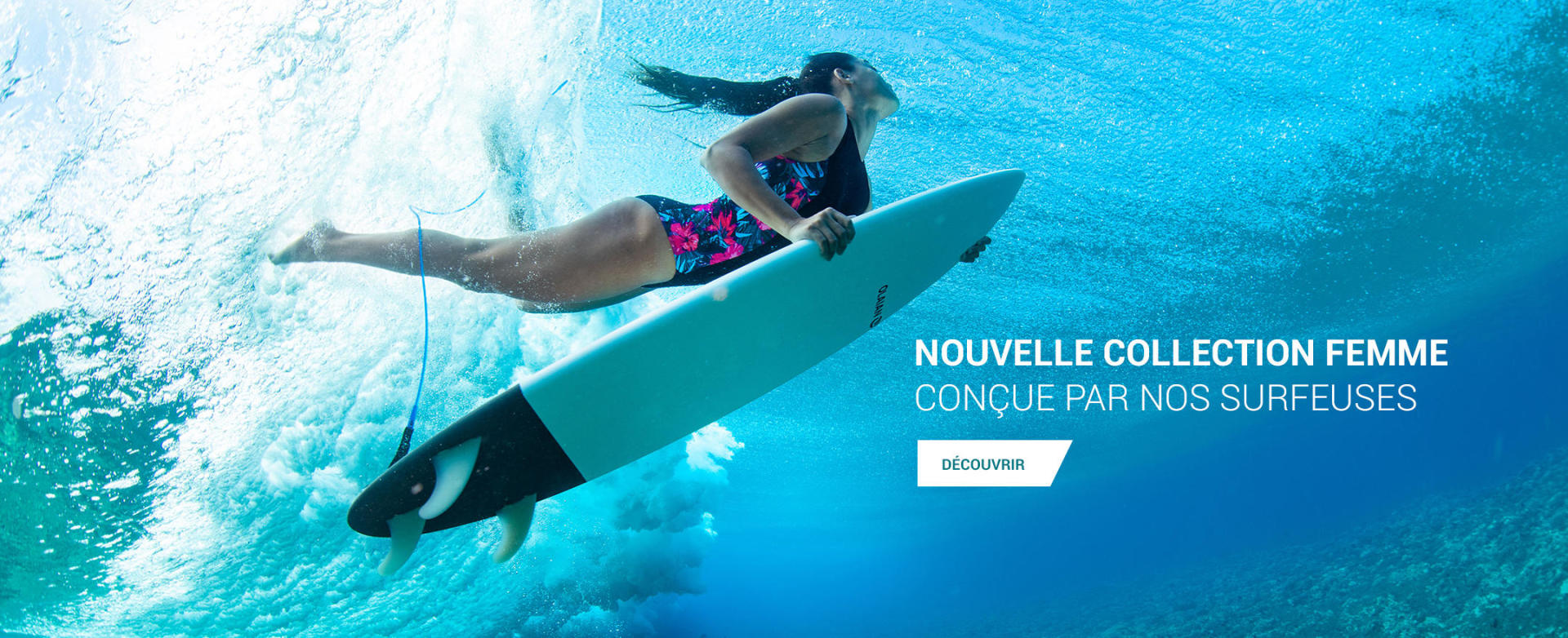 Banniere Collection Maillots de Bain Surfeuses 2019
