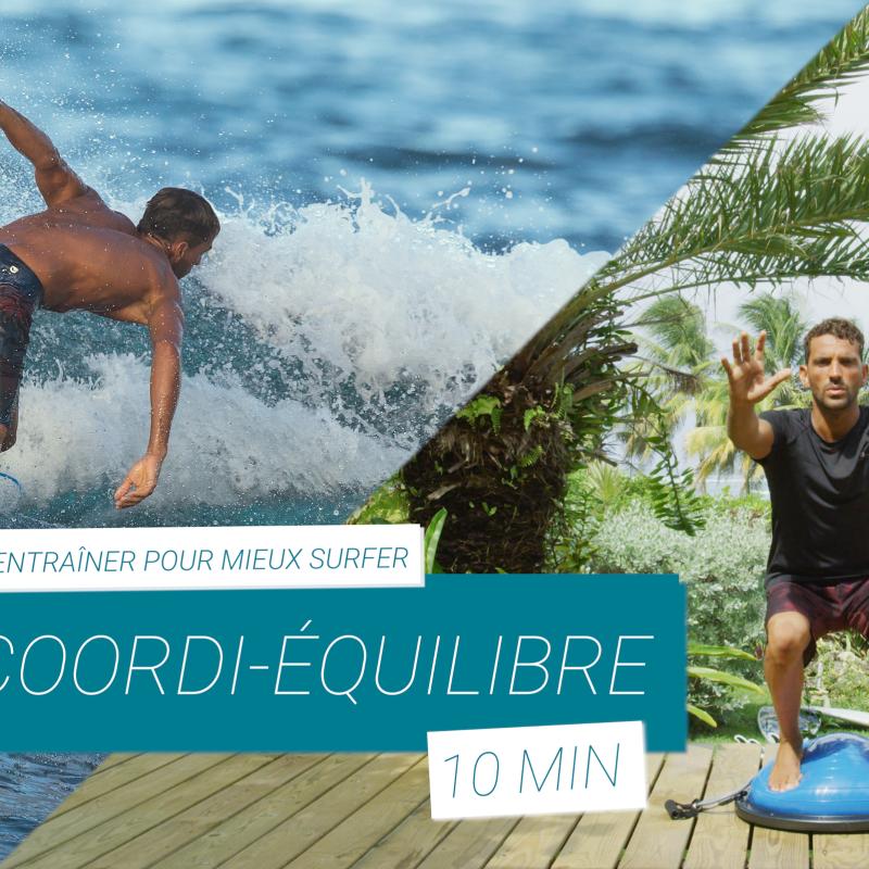 préparation physique pour surfeur équilibre