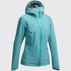 veste imperméable randonnée montagne  quechua femme MH500 decathlon