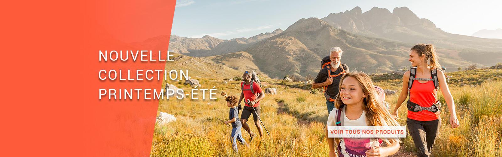 boutique équipement randonnée montagne quechua decathlon