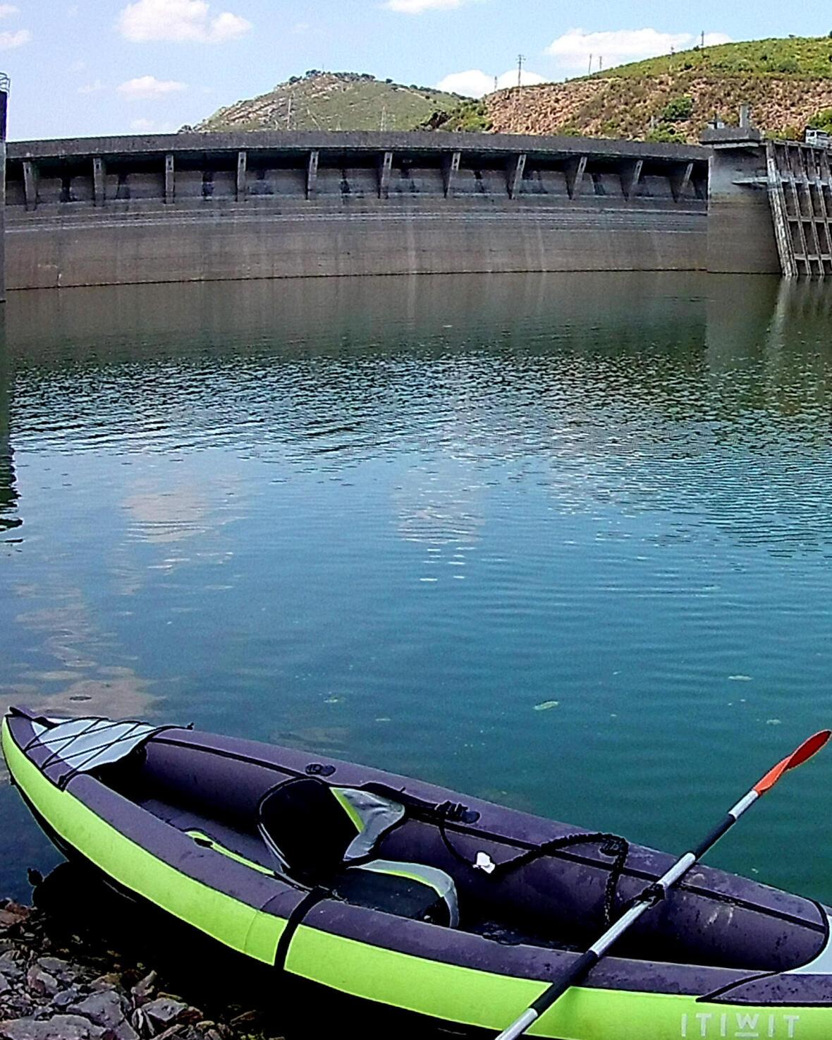 inflatable canoe kayak trip portugal