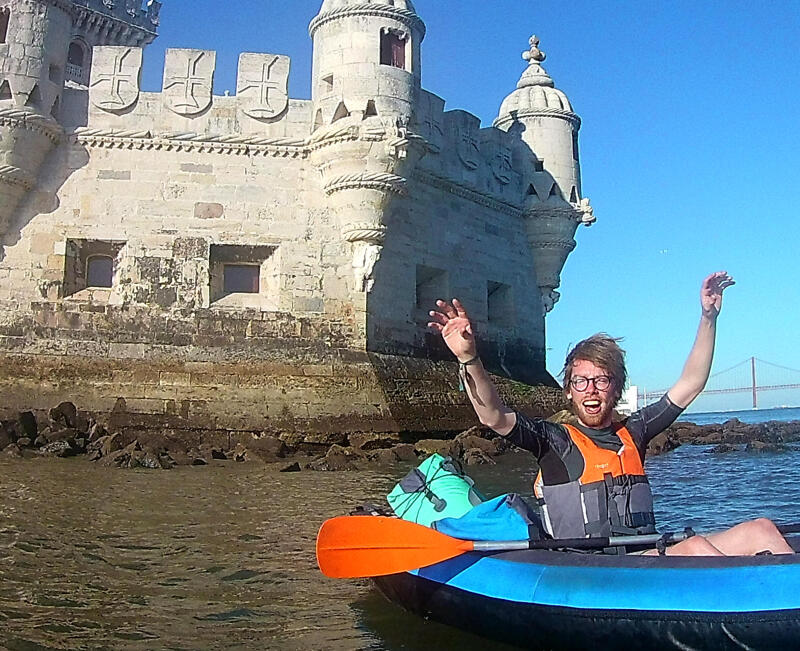 tagus river inflatable kayak