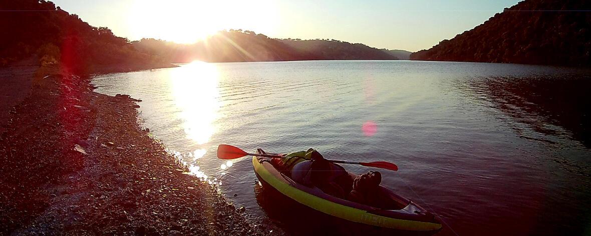 MONFRAGÜE NATIONAL PARK kayak
