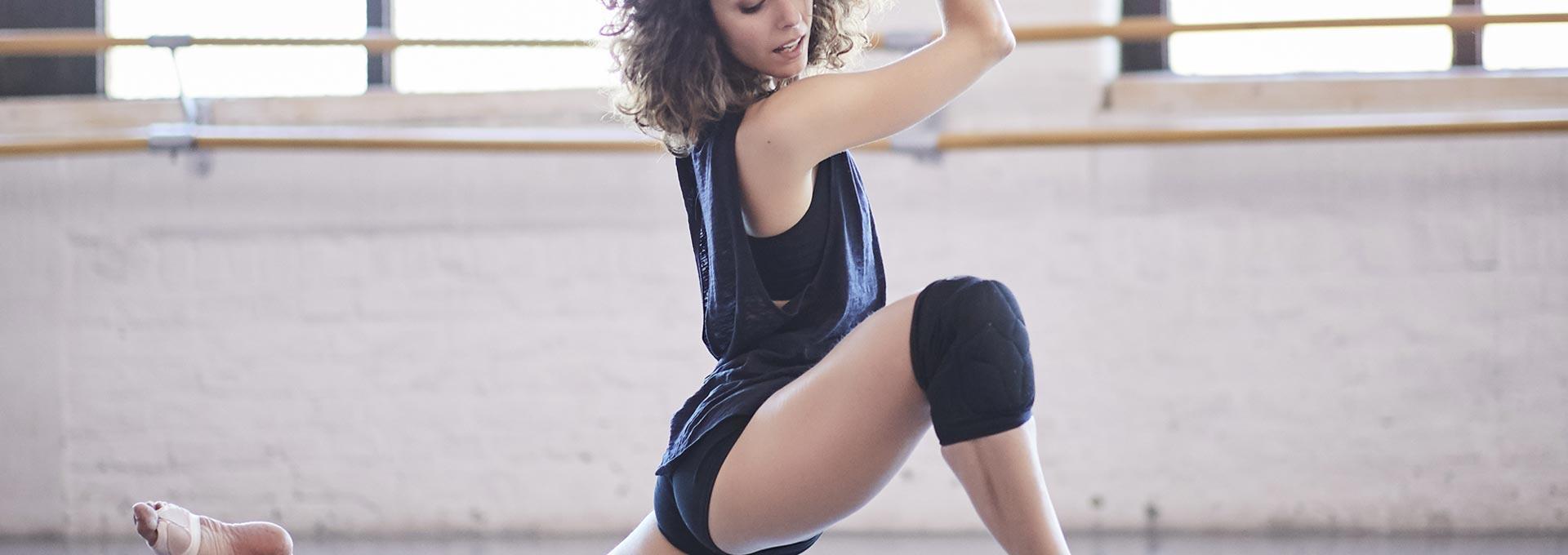 Genouillere danse decathlon protection genou