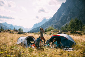 Os essenciais do acampamento - teaser