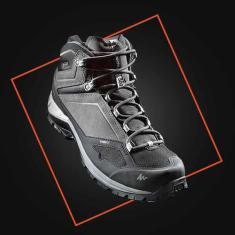 design process mountain hiking shoes quechua decathlon