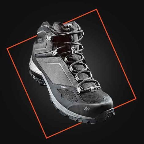conception chaussure randonnée montagne quechua decathlon