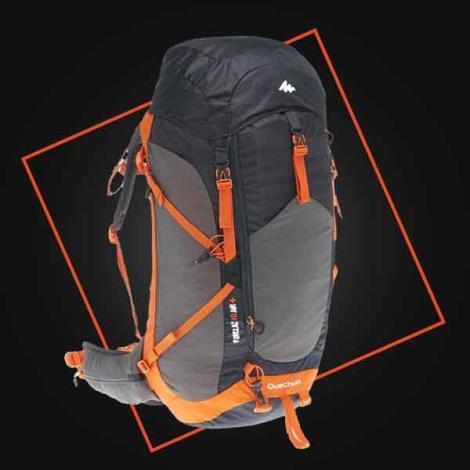 conception sac à dos randonnée montagne decathlon quechua