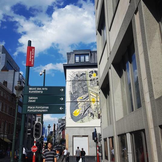 backpacking voyage Belgique visite Bruxelles