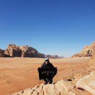 itineraire d'un voyage en jordanie
