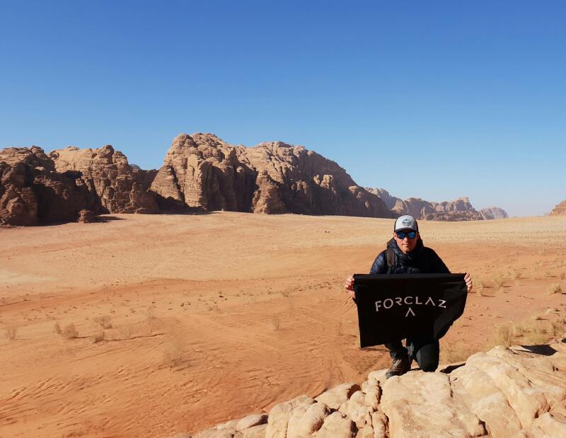 itineraire trek voyage Jordanie