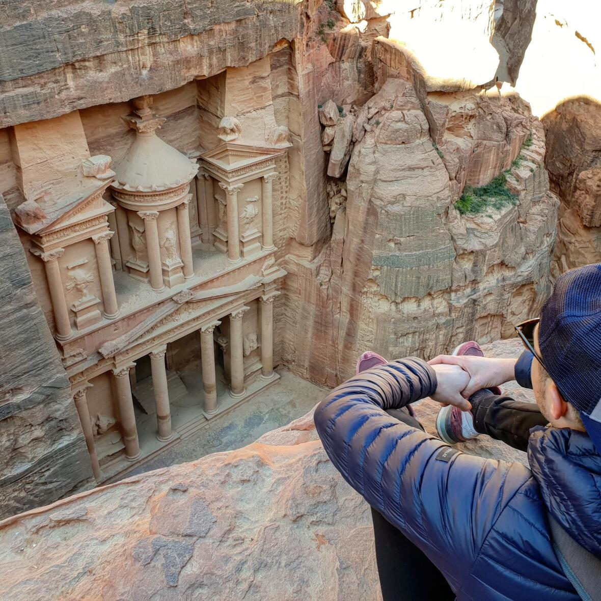 visiter les temples de petra