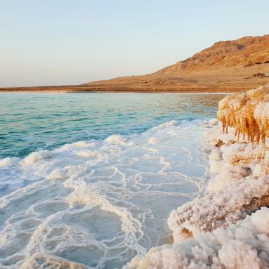 voyage en jordanie visite de la mer morte