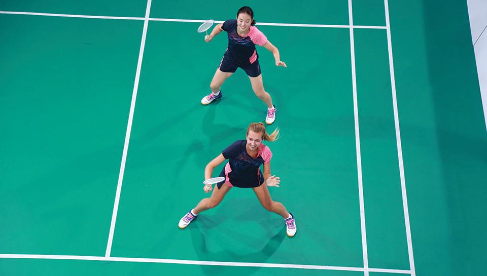 Equipement badminton femme