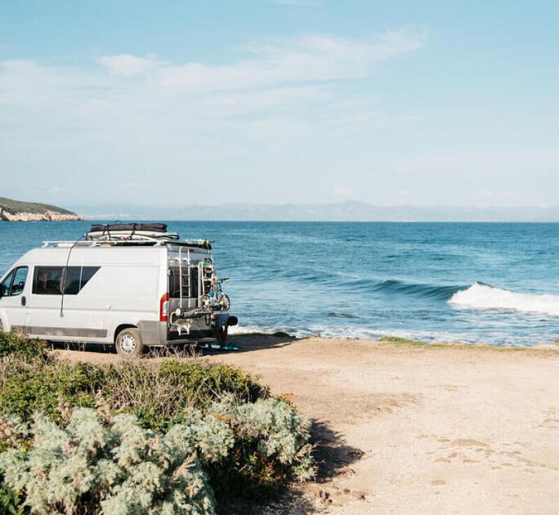 partir en surf trip en europe en van