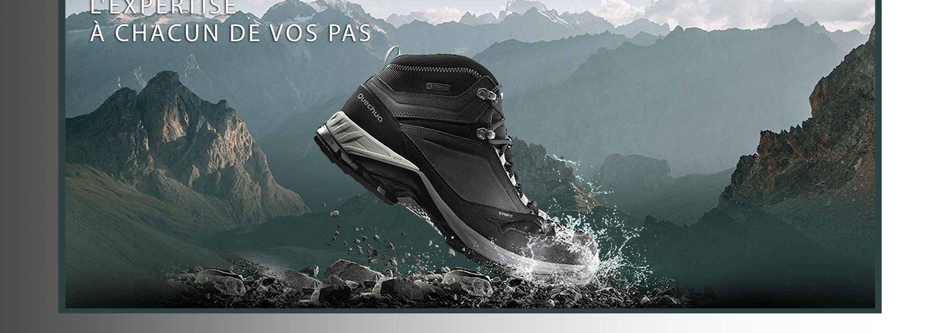 CHAUSSURES IMPERMEABLES MH500