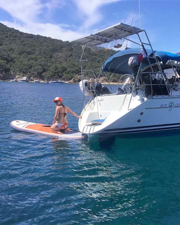 SUP annexe bateau