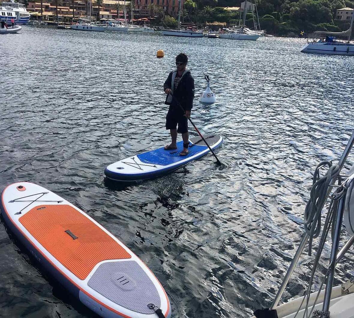 stand up paddle bateau