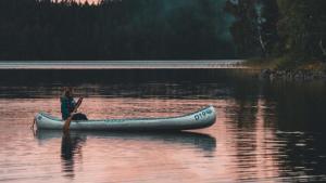 Kanoën Zweden