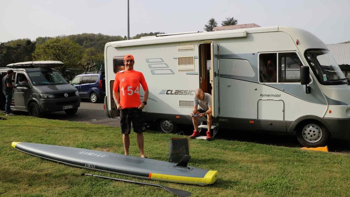 alex dordogne integrale stand up paddle race