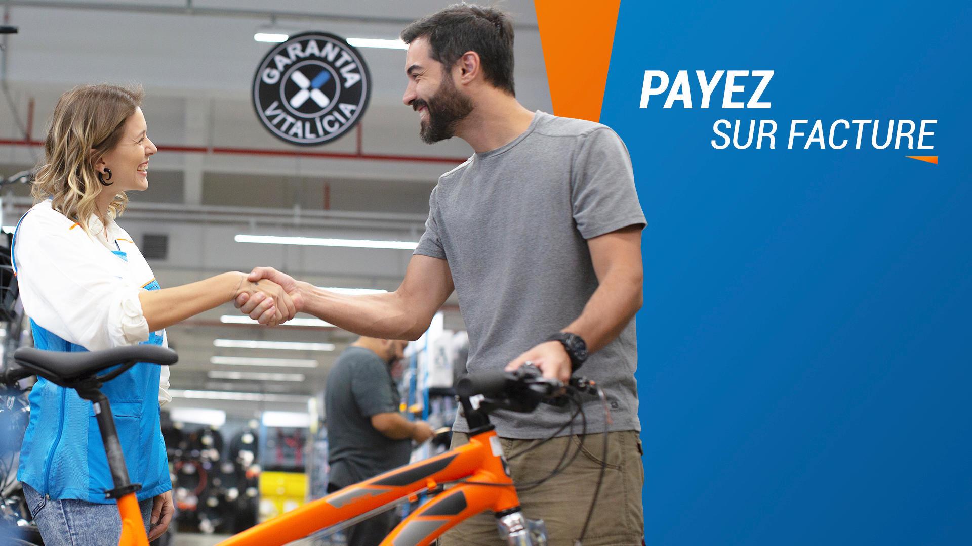 payer sur facture