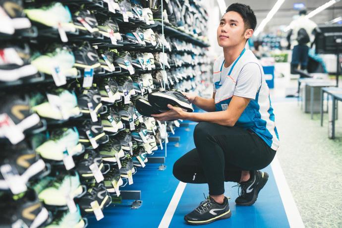 迪卡儂台南仁德店跑步運動大使 Ian