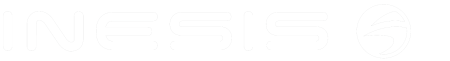Logo Inesis Transparent Blanc golf