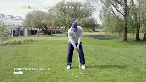 Golf-Thomas-Levet-Conseil-1-Position-Balle-Débutant
