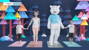 瑜珈教學影片: 親子瑜珈